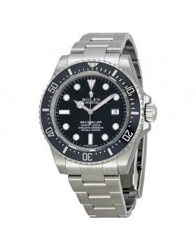 Fake Rolex Sea Dweller Black Dial Mens Watch 116600BKSO