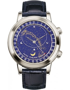Replica Patek Philippe Grand Complications Platinum Mens Watch 6102P-001