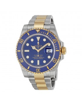 Fake Rolex Submariner Blue Index Dial Mens Watch 116613BLSO
