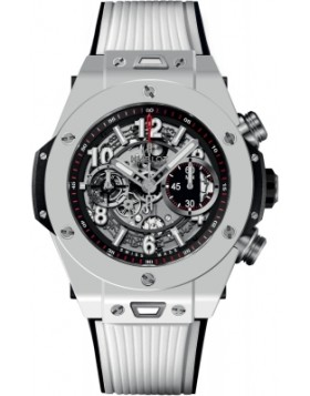Replica Hublot Big Bang Unico White Ceramic 45mm 411.HX.1170.RX