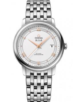 Fake Omega De Ville Prestige Co-Axial 39.5mm Mens Watch 424.10.40.20.02.002