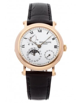 Replica Patek Philippe Grand Complications Moon Phase Power Reserve 5054R-001