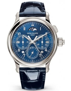 Replica Patek Philippe Grand Complications Perpetual Calendar Split-Seconds Chronograph 5372P-001