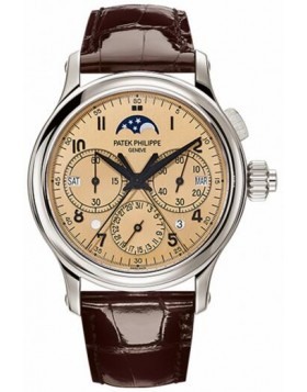Replica Patek Philippe Grand Complications Perpetual Calendar Split-Seconds Chronograph 5372P-010