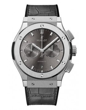 Fake Hublot Classic Fusion Racing Grey Chronograph Titanium 42mm 541.NX.7070.LR