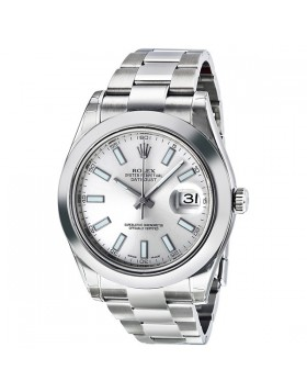 Fake Rolex Datejust II Automatic Silver Dial Mens Watch 116300SSO