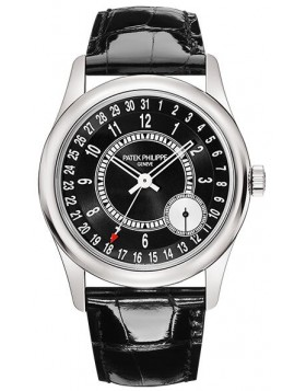 Replica Patek Philippe Calatrava White Gold 6006G-001