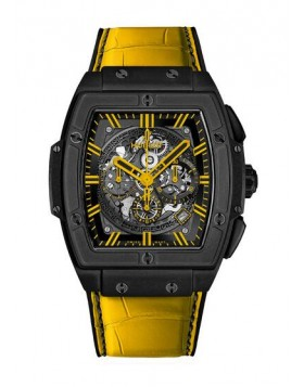 Fake Hublot Spirit Of Big Bang All Black Yellow Watch 601.CY.0190.LR