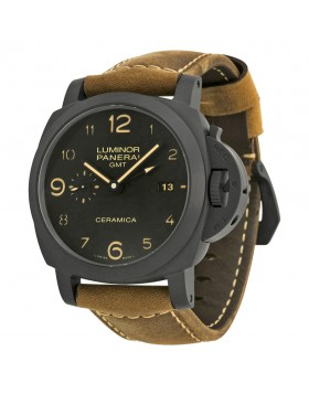 Fake Panerai Luminor 1950 3 Days GMT Mens Watch PAM00441