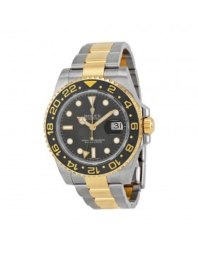 Fake Rolex GMT-Master II Black AutomaticMens Watch116713BKSO
