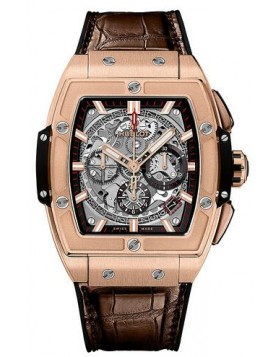 Replica Hublot Spirit of Big Bang King Gold Watch 42mm 641.OX.0183.LR