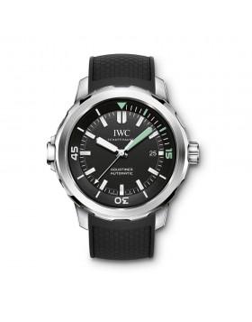 Fake IWC Aquatimer Black Dial Mens Watch IW329001