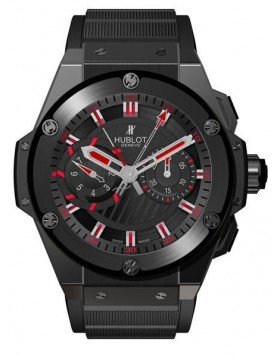Replica Hublot King Power Foudroyante Black Magic 715.CI.1123.RX