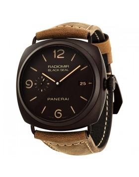 Fake Panerai Radiomir Composite Black Seal 3 Days Automatic Mens Watch PAM00505