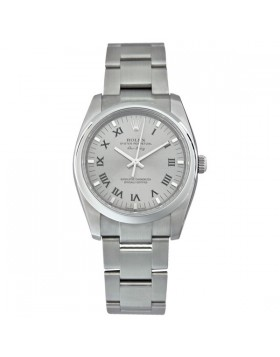 Fake Rolex Air king Grey Dial Mens Watch 114200GYRO