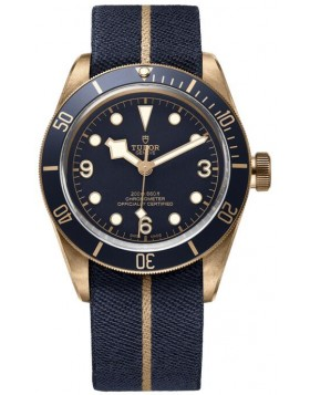Fake Tudor Heritage Black Bay Bronze Bucherer Blue 79250bb-0001