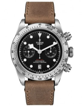 Fake Tudor Heritage Black Bay Chronograph 41mm Watch 79350-0002