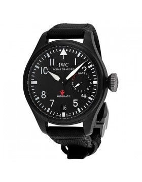 Fake IWC Big Pilot's Top Gun Black Dial Automatic Mens Watch IW501901