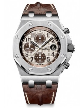 Fake Audemars Piguet Royal Oak Offshore Safari Chronograph 26470ST.00.A801CR.01