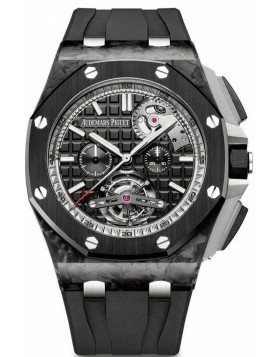 Fake Audemars Piguet Royal Oak Offshore Tourbillon Chronograph 26550AU.OO.A002CA.01