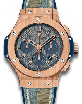 Fake Hublot Big Bang Jeans Gold Mens Watch 301.PL.2780.NR.JEANS