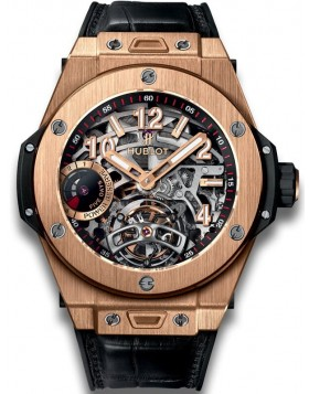 Fake Hublot Big Bang Tourbillon Power Reserve 5 Days King Gold 45mm Watch 405.OX.0138.LR