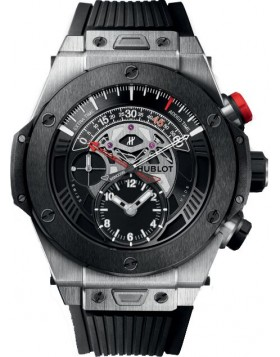 Fake Hublot Big Bang Unico Bi-Retrograde Chrono Titanium Ceramic Watch 413.NM.1127.RX
