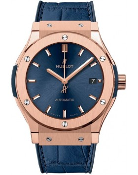 Fake Hublot Classic Fusion Automatic Gold 45mm Watch 511.OX.7180.LR