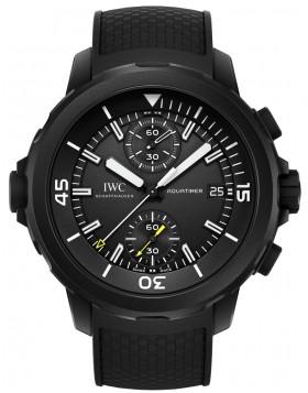 Fake IWC Aquatimer Chronograph Galapagos Islands Mens Watch IW379502