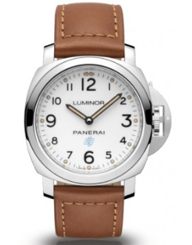 Fake Panerai Luminor Base Logo 3 Days Acciaio 44mm PAM00775