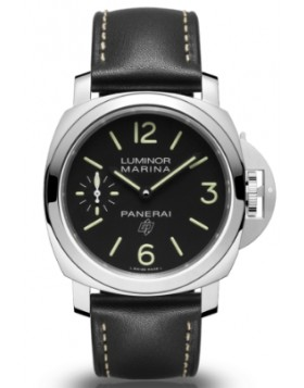 Fake Panerai Luminor Logo Marina 3 Days Acciaio 44mm PAM00776