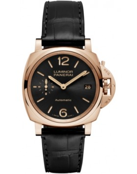 Fake Panerai Luminor Due 3 Days Automatic Oro Rosso 38mm PAM00908