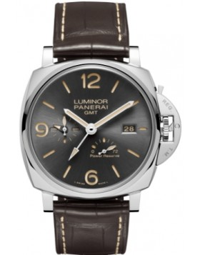 Fake Panerai Luminor Due 3 Days GMT Power Reserve Automatic Acciaio 45mm PAM00944