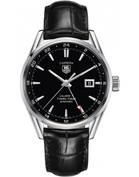 Fake TAG Heuer Carrera Calibre 7 Twin-Time Automatic 41mm WAR2010.FC6266