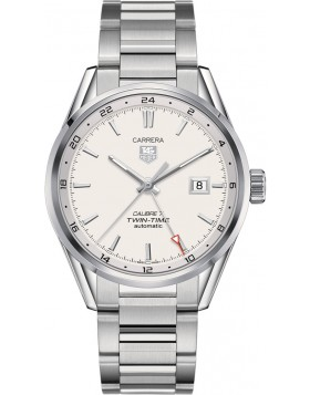 Fake TAG Heuer Carrera Calibre 7 Twin-Time Automatic 41mm WAR2011.BA0723