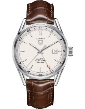 Fake TAG Heuer Carrera Calibre 7 Twin-Time Automatic 41mm WAR2011.FC6291