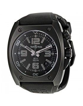Replica Bell & Ross Phantom Black Dial Automatic Mens Watch BR0292CAPH