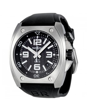 Replica Bell & Ross Marine Carbon Fiber Dial Automatic Mens Watch BR0292-ST-CBF