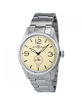 Replica Bell & Ross Original Automatic Mens Watch BR123-BEI-ST-SS