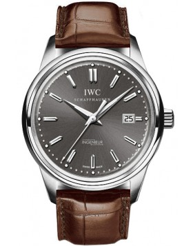 Fake IWC Vintage Ingenieur Grey Dial utomatic Mens Watch IW323304