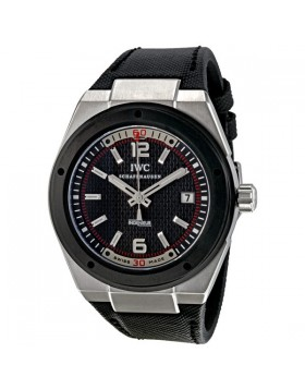 Fake IWC Ingenieur Black Dial Automatic Mens Watch IW323401