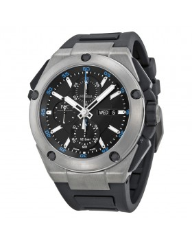 Fake IWC Ingenieur Double Chronograph Automatic Titanium Mens Watch IW3865-03