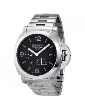 Fake Panerai Luminor 1950 3 Days GMT Automatic Mens Watch PAM00347