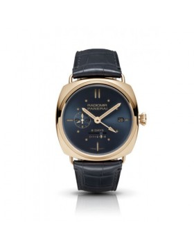 Fake Panerai Radiomir 8 Days GMT Oro Rosso Mens Watch PAM00538