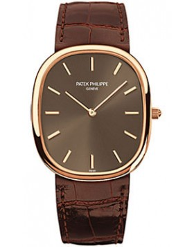 Replica Patek Philippe Golden Ellipse Automatic Rose Gold Mens Watch 3738/100R/001