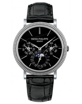 Replica Patek Philippe Grand Complication Automatic White Gold Mens Watch 5139G-010