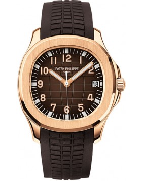 Replica Patek Philippe Aquanaut Rose Gold Automatic Mens Watch 5167R-001