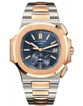 Replica Patek Philippe Nautilus Blue Dial Mens Watch 5980/1AR