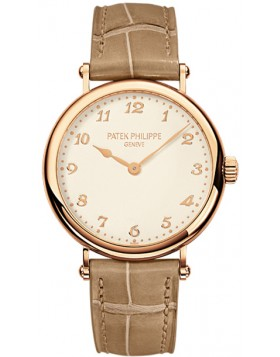 Replica Patek Philippe Calatrava Rose Gold Ladies Watch 7200R