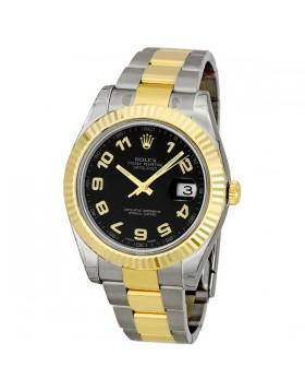 Fake Rolex Datejust II Two-tone Mens Watch 116333BKAO